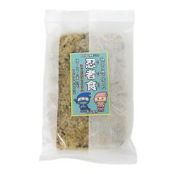 ★みどり米で作った 忍者食「ひじき・ごぼうごはん!」(200g)