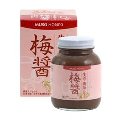 ★【無双本舗】生姜・番茶入り 梅醤(250g)※