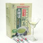 ◆血糖値が気になる方の粉末緑茶/食事のおともに食物繊維入り緑茶(6g×60包)